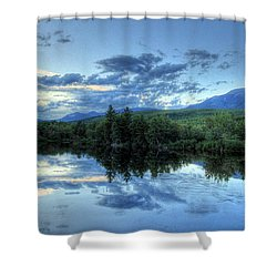 The End Is Near Shower Curtain by Lori Deiter