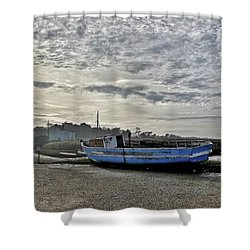 The Fixer-upper, Brancaster Staithe Shower Curtain by John Edwards