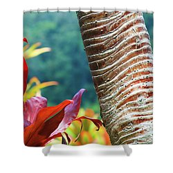 The Garden Of Love Shower Curtain by Sharon Mau