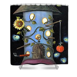 The Gardener Shower Curtain by Leah Saulnier The Painting Maniac