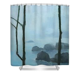The Gathering Iguazu Falls Shower Curtain by Steve Mitchell