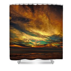 The Glory Shower Curtain by James Heckt