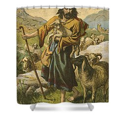 The Good Shepherd Shower Curtain by English School