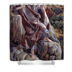 The Good Shepherd Shower Curtain by Tissot