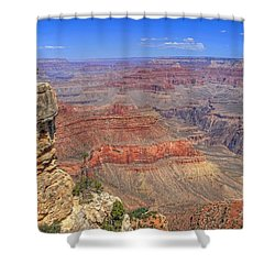 The Grand Canyon Shower Curtain by Donna Kennedy