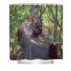 The Grove Shower Curtain by Julius Gari Melchers