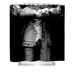 The Guard Shower Curtain by Ed Smith