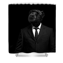 The Interview Shower Curtain by Paul Neville
