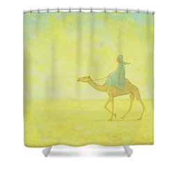 The Journey Shower Curtain by Tilly Willis