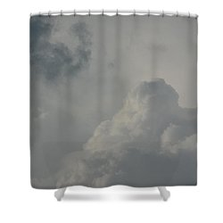 The Knock Out Punch Shower Curtain by Ed Smith