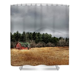 The Last Stand Shower Curtain by Lori Deiter