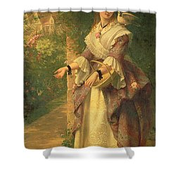 The Last Summer Days Shower Curtain by Thomas Brooks
