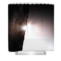 The Light Of Day Shower Curtain by Richard Rizzo