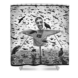 The Nightmare Shower Curtain by Mike McGlothlen