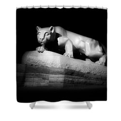The Nittany Lion Of P S U Shower Curtain by Pixabay