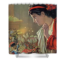 The Nutcracker Shower Curtain by Carl Offterdinger