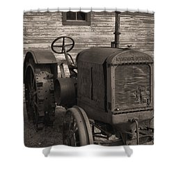 The Old Mule  Shower Curtain by Richard Rizzo
