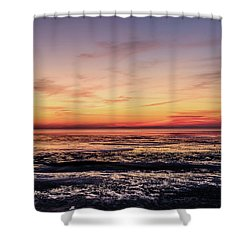 Shower Curtain featuring the photograph The Other World by Thierry Bouriat