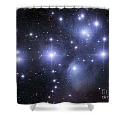 The Pleiades Shower Curtain by Robert Gendler