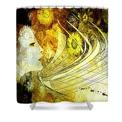 The Second Dream Shower Curtain by Van Renselar