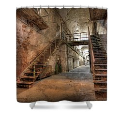 The Sound Of Silence Shower Curtain by Lori Deiter