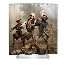 The Spirit Of '76 Shower Curtain by War Is Hell Store