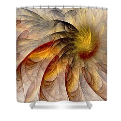 The Sun Do Move - Remembering Langston Hughes Shower Curtain by NirvanaBlues