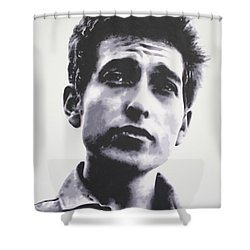 The Times They Are A Changin'  2013 Shower Curtain by Luis Ludzska