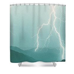 The Walk  Shower Curtain by James BO  Insogna