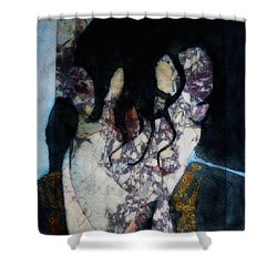 The Way You Make Me Feel Shower Curtain by Paul Lovering