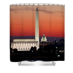 This City Shower Curtain by Mitch Cat