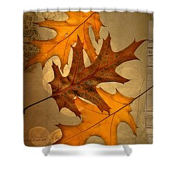 Three Shower Curtain by Jan Bickerton