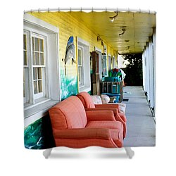 Thrift Store 1 Shower Curtain by Lanjee Chee