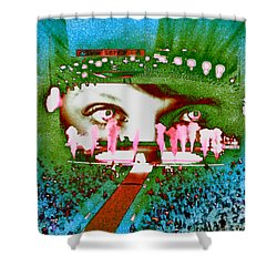 Through The Eyes Of Taylor Shower Curtain by Kim Peto