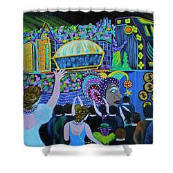 Throw Me Something Mister Shower Curtain by Douglas Ann Slusher