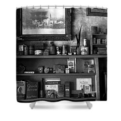 Time Standing Still Shower Curtain by David Lee Thompson