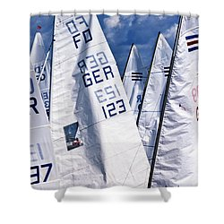 To Sea - To Sea  Shower Curtain by Heiko Koehrer-Wagner