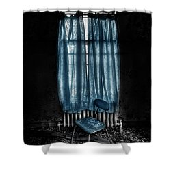 Tormented In Grace Shower Curtain by Evelina Kremsdorf