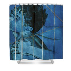 Touch Shower Curtain by Rene Capone