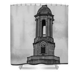 Tower At Old Main Penn State Shower Curtain by John McGraw