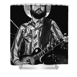 Toy Caldwell Live Shower Curtain by Ben Upham