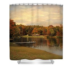 Tranquility Shower Curtain by Jai Johnson