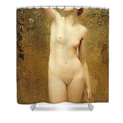 Truth Shower Curtain by George William Joy