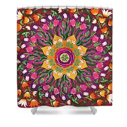 Tulip Mania 2 Shower Curtain by Isobel  Brook Haslam