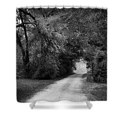 Tunnel Of Lydia Shower Curtain by Michael Thomas