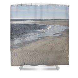 Tybee Island Beach Shower Curtain by Carol Groenen