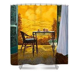 Un Caldo Pomeriggio D Shower Curtain by Guido Borelli