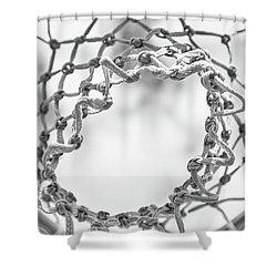 Under The Net Shower Curtain by Karol Livote