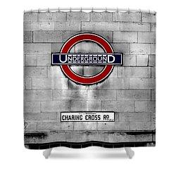 Underground Shower Curtain by Mark Rogan