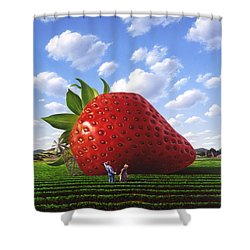 Unexpected Growth Shower Curtain by Jerry LoFaro